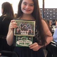 Sarah Boyles Team Spirit of the Year